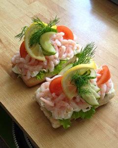 Räksmörgås 50:-